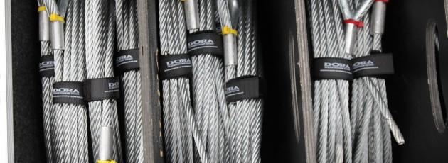 Stahlseil, einseitig gekauscht