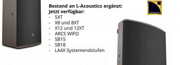 New L-Acoustics
